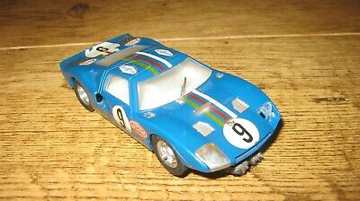 Vintage Atlas Ford Gt Slot Car Brass Chassis • 11.50£