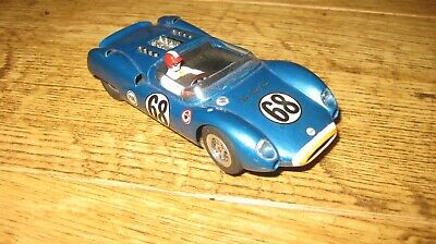 Vintage Monogram 1960s Cooper Ford Slot Car Brass Chassis • 19£