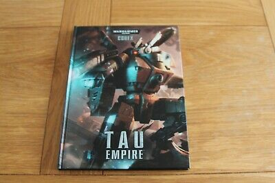 WARHAMMER WH40K - CODEX : TAU EMPIRE - Hardback - 2012 • 10£