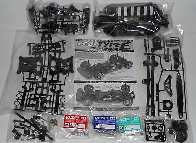 New Tamiya 'TT-01 Type E' 4WD R/C Touring Car Chassis Kit Only (TT01E) On-Road • 62.99£