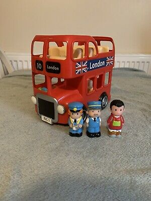 Elc Happyland Bus With Working Sounds Includes 3 Figures • 14.99£