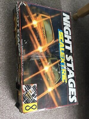 Scalextric Vintage Set , Night Stages • 10.50£