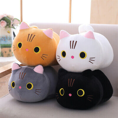 Cartoon Plush Toy Cat Pillow Cute Kitten Doll Doll Doll Girlfriend Birthday Gift • 8.96£