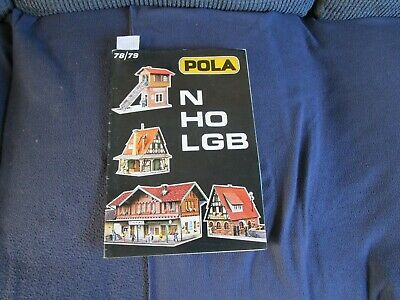 Pola N, HB & LGB Model Catalogue - 1978/79 • 3£