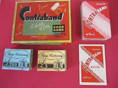 Contraband Vintage Pepys Card Game • 5£