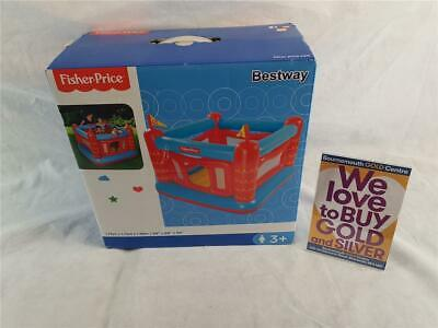 Bestway Fisher-Price Bouncy Castle *BOXED* *NO RESERVE* • 21£