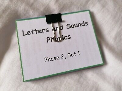 🤩 WEEKEND SALE 🤩 Letters And Sounds Phonics Phase 2, Set 1 - Home Teaching • 2.49£