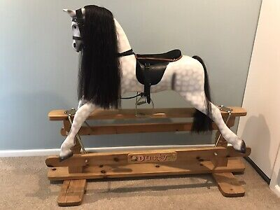 Traditional Wooden Rocking Horse • 500£