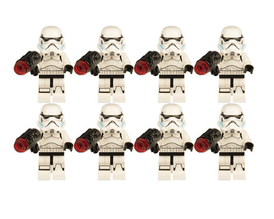 Stormtrooper Army Custom Lego Minifigures Star Wars Troopers Qty 8 • 14.80£