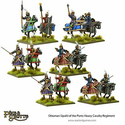 Pike & Shotte - Ottoman Sipahi Of The Porte Heavy Cavalry Regiment WARLORD GAMES • 34.20£
