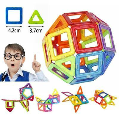100~50Pcs Magnetic Building Blocks Multicolour Construction Building Toys Puzzle • 15.98£