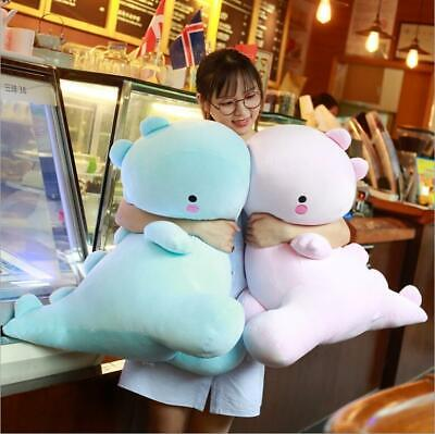 Cartoon Soft Dinosaur Plush Doll Cute Sleeping Pillow Creative Gift For Girls UK • 11.75£