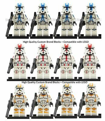 Clone Army Custom Lego Mini Figure Star Wars Clone Troopers Multi-qty • 14.95£