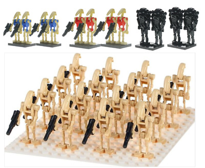Droid Army Custom Lego Mini Figure Star Wars Troops Multi-qty 20 Droids £12.95 • 12.95£