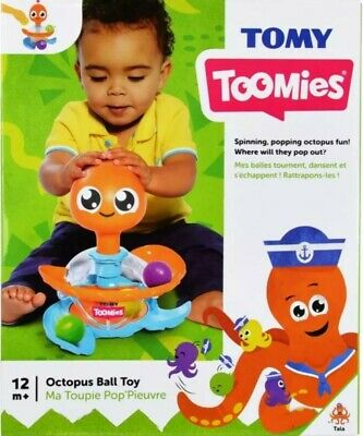 Tommy Octopus Ball Toy - Brand New • 18.99£