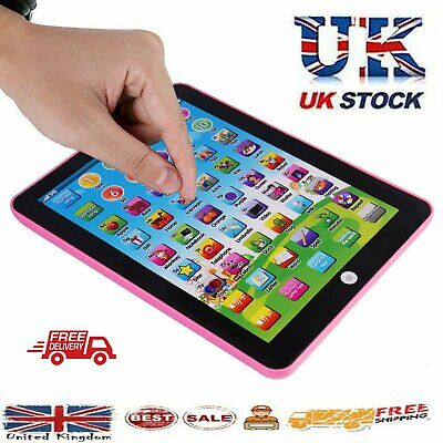 Baby Tablet Educational Toys Girls Toy For 1 2 Year Old Toddler Learning English • 5.66£