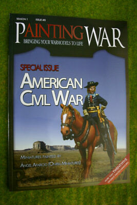 Painting War Issue #8 American Civil War Book/ Magazine • 16£