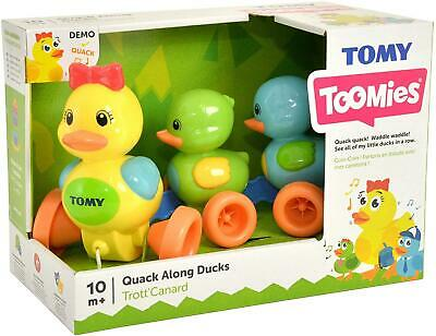 Tomy Toomies Quack Pull Along Ducks With Sounds Baby Development Toy New & Boxed • 14.99£