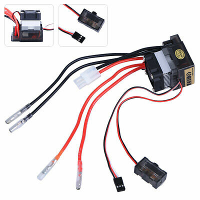 Double Way 320a Esc Brush Motor Speed Controller With Fan For Rc Car Boat Model • 11.40£