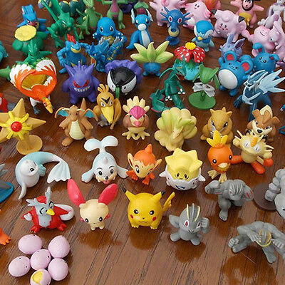 144pcs Pokemon Pikachu Monster Collectible Action Figures Doll Set Kids Toy Gift • 16.99£