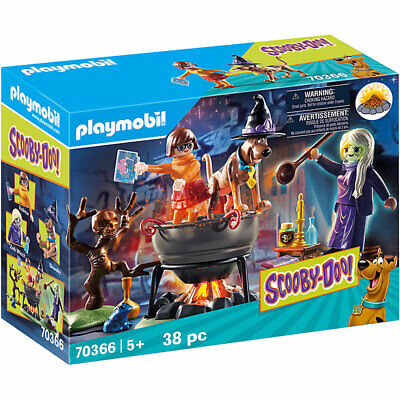 Playmobil 70366 Scooby Doo! Adventure In The Witch's Cauldron • 18.95£