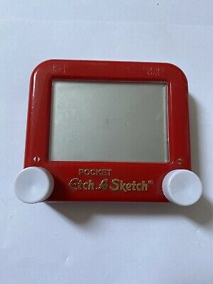 Pocket Etch A Scetch (slight Mark In Centre Of Screen - Works Perfectly)  • 8.50£