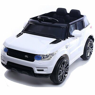 Kids Mini Range Rover HSE Sport Style 12v Electric Battery Compact Jeep - White • 109.95£