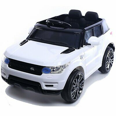 Kids Mini Range Rover HSE Sport Style 12v Electric Battery Compact Jeep - White • 119.95£