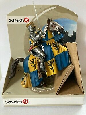 SCHLEICH 70009 Knights Prince Reared-up Horse Retired 2009 New Sealed UK Rare • 19.99£