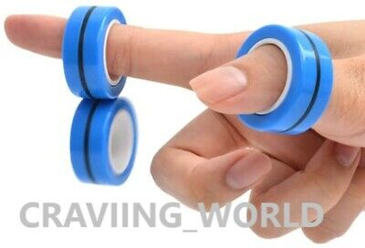Fingears Magnetic Ring Toy - Finger Spinner Toy Multi Activity Stress Relief  • 2.49£