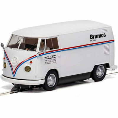 Scalextric Slot Car C4086 VW Panel Van T1b - Brumos Racing • 38.99£