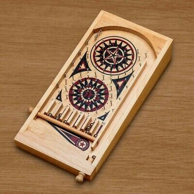 Tobar 13092 Deluxe Wooden Pinball Game With Metal Balls • 10£
