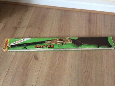 Vintage Collectible 1985 Denver Toy Rifle By Edison Boxed  • 30£