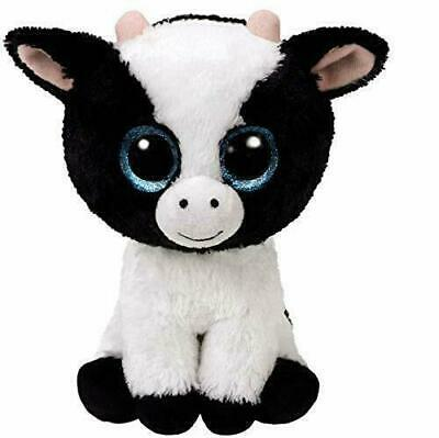 Ty Beanie Boo Boos 36841 Butter The Black And White Cow Regular • 9.99£