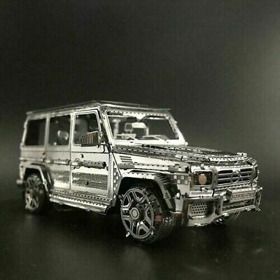 4X4 Off Road Car 3D Laser Cut Metal Model Kit Puzzle In The Style Of A Mercedes  • 9.99£