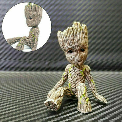 Guardians Of The Galaxy 2 Tree Man Baby Groot Figure Flowerpot Pen Pot Toy Gifts • 4.56£