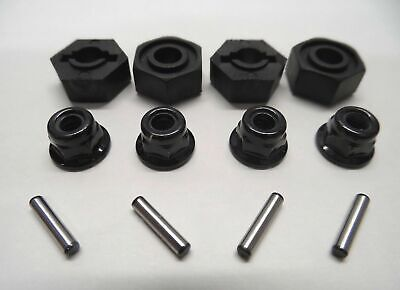 New 12mm Hex Fttings, Axle Pins + Wheel Nuts To Fit Tamiya TT01 / TL01 / TT02 • 4.99£