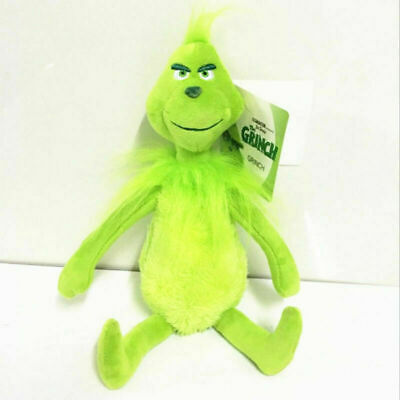Grinch Plush Toy Doll How The Grinch Stole Christmas Boy Girl Figurine 12  UK • 5.99£