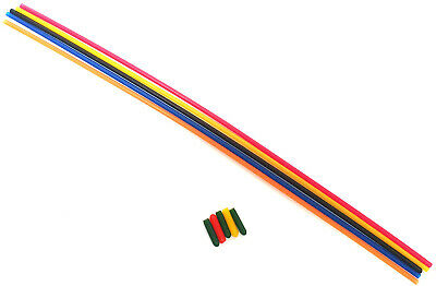 27mhz RC Model Buggy Receiver Plastic Antenna Pipe Mix Cap Aerial Tube Mix X 5 • 2.80£