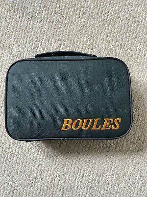 French Steel Boules Set. Great Condition But Needs New Zip! • 14.50£