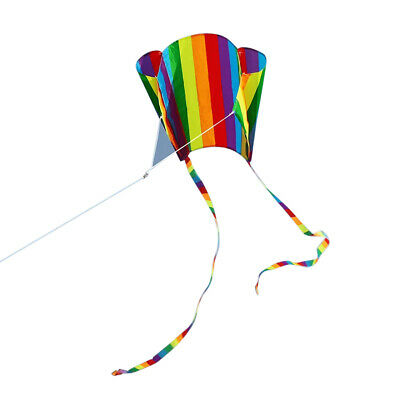 Colorful Item Rainbow Pocket Kite Colorful Child Kite Software Includ Line Board • 5.69£