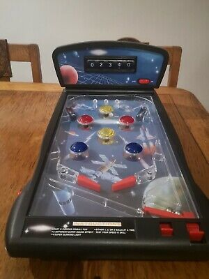 Tabletop Pin Ball Machine Space Theme- Great Condition  • 16£