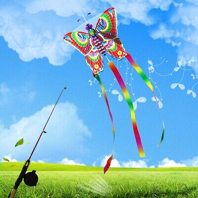 Outdoor Kites Butterfly Flying Kite Children Kids Family Fun Sports Toys • 3.86£