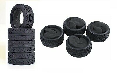 RC Car Tyres 1/10 Rally Drift Free Delivery • 14.99£