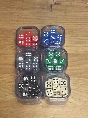 CITADEL 12mm DICE SET All Colours • 5.50£