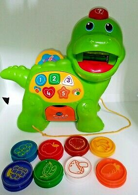 Vtech Baby Feed Me Dino Toy - Green • 9.99£