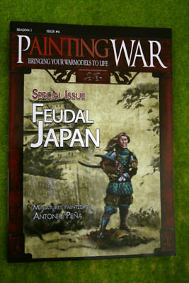 Painting War Issue #6 Feudal Japan Book/ Magazine • 18.50£