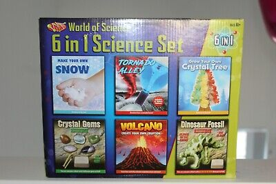 World Of Science 6 In 1 Science Set - Play Set  • 6.50£