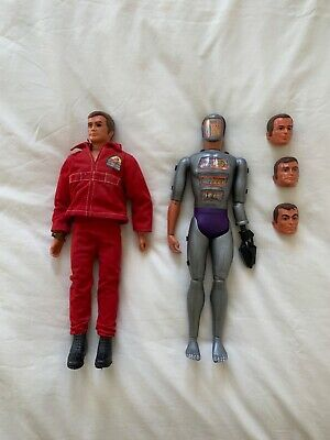 Collectable - Six Million Dollar Man + Maskatron  (1970's Action Figures) • 60£
