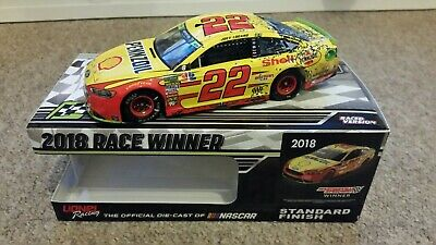 2018 Joey Logano Martinsville Win Raced Version - Ford Fusion *1 Of 409* • 44.99£